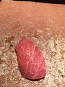Michelin Tuna sushi